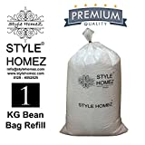 #10: Style Homez 1 Kg Premium Bean Bag Refill for Bean Bags