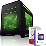 Gaming PC / Multimedia COMPUTER inkl. Windows 10 Pro 64-Bit! - AMD Quad-Core A10-6800K 4 x 4.4 GHz - AMD Radeon HD 8670D - 8GB DDR3 RAM - 500GB HDD - 24-fach DVD Brenner - USB 3.0 - DVI - HDMI - VGA - Gamer PC mit 3 Jahren Garantie!