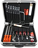 Famex 648-91 Werkzeug Set Top-Qualität in ABS Schalenkoffer 25L