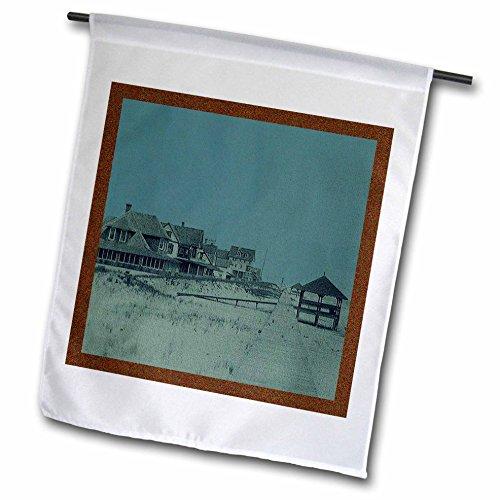 3drose FL _ 26307_ 5,1cm Vintage 1903Bethany Beach Promenade
