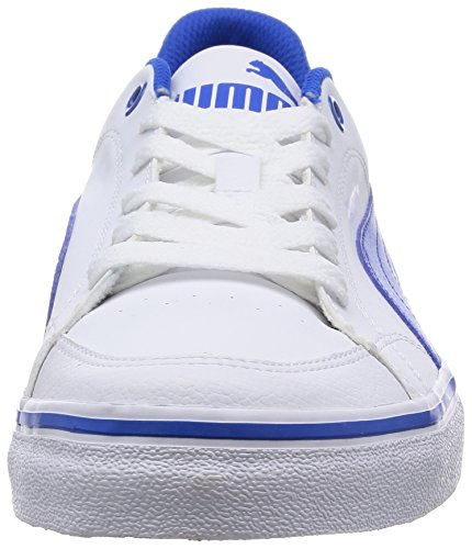 Puma Court Point Vulc, Sneakers basses homme Blanc - Weiß (white-strong blue 03)