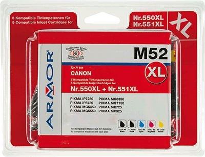 Preisvergleich Produktbild Armor b10281re Tintenpatrone–Tintenpatronen (schwarz, cyan, magenta, gelb, Canon, Canon Pixma iP7250, iP8750, iX6850, MG5450, MG5550MG5650MG6350, MG6450, MG6450Monster Universit T)