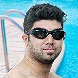 Schwimmbrille, Taucherbrille Wasserundurchlässig mit Beschichtung und Kostenlosem Schutz Etui,...