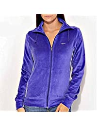 Nike Women's Athletic Dept Velour Track Top - Large (16-18 UK)