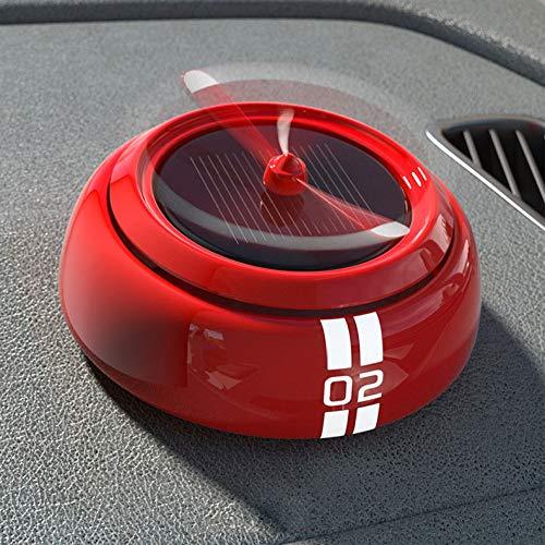 XUNTAO Profumo per Auto, Deodorante, Aria Fresca, Nano-Aroma, No Alcol, Volatilizzazione Solare, Materiale in Lega di Alluminio, Decorazione Auto,R