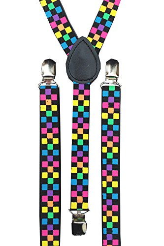 Bare - Bretelles - Homme - Multi Coloured Squares