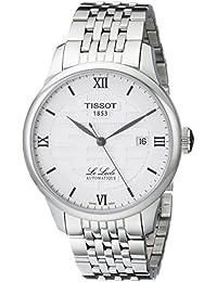 Tissot Herren-Armbanduhr Analog Automatik Edelstahl T41.1.833.50