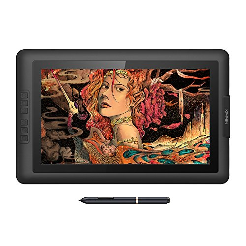 XP-Pen Artist15.6 IPS Drawing Pen Display Grafikmonitor 8192 Druckempfindlichkeit Passive Stylus...