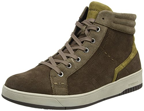 Stonefly Dover 2, Sneakers Hautes Homme Marron (Oak Brown/Almonds 38)