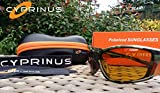 Cyprinus Polarized polarised Polaroid Fishing Sunglasses Yellow Lens Rrp £49.99