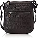 Guess Hm6150pol73, Men's Shoulder Bag, Black (Nero), 2.5x22x21 cm (W x H L)