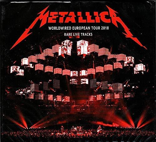 METALLICA Live Rarities 2018 World Wired Tour Doppel CD in digipak [Audio CD]