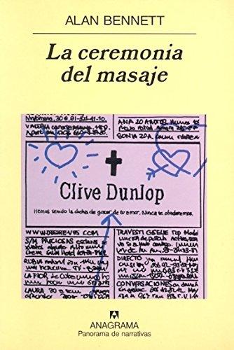 Portada del libro La ceremonia del masaje (Panorama de narrativas)