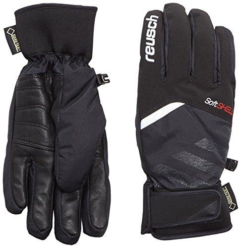 Reusch Herren Handschuhe Bruce GTX Black/White, 7