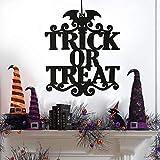 Ksell Halloween Türschild Dekoschild Hängende Verzierung Anhänger Deko für Tür Wand Fenster