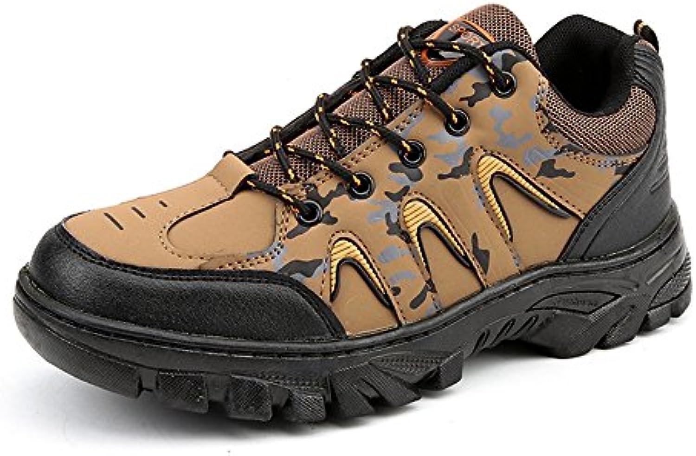 Shufang-shoes, 2018 Zapatillas para Hombre, Calzado atlético para Hombre con Cordones Resistentes al Desgaste...