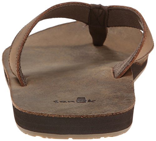 Brown Flip Doe Flop John Sanuk Mens qtzXwzv6