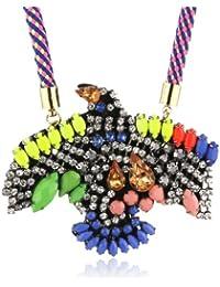 Sweet Deluxe Damen Halskette Glas 60 cm mehrfarbig 0388