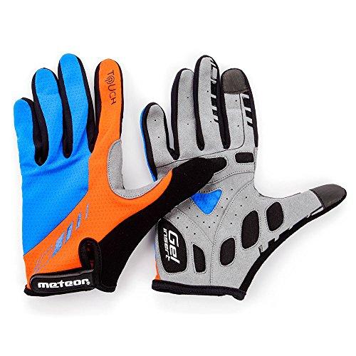 RADHANDSCHUHE FULL METEOR FX11 für Radsport MTB Road Race Downhill Wandern und andere Sports unisex … (XL) (Unterstützung Endura)