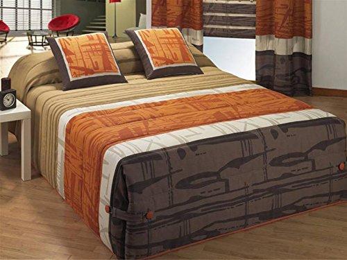 LaNovenaNube - Edredón Conforter MIRFA cama 135 - Color Marrón