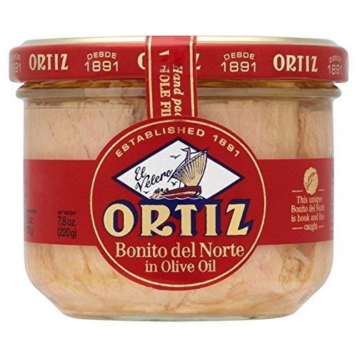 Brindisa Ortiz Les Filets De Thon À L'Huile D'Olive 220G - Paquet de 6