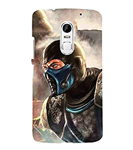 Cartoon, Blue, Cartoon and Animation, fighter, Printed Designer Back Case Cover for Lenovo Vibe X3