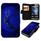 Book Style Huawei Ascend P7 Mini Premium PU-Leder Tasche