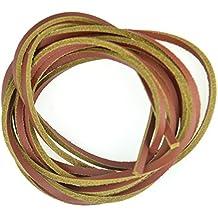 Cordones de cuero, 2tonos, Timberland estilo