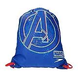 Speedo Kinder Marvel Wet Kit Tasche Avengers Neon Blue/Lava Red One Size