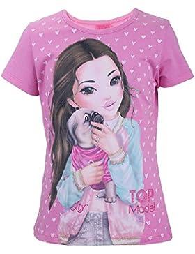 Top Model Mädchen T-Shirt Liv 85001 Rosa