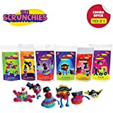 Toiing Scrunchies Return Gift Combo - Pack Of 6 Monster Family Construction Sets For Kids