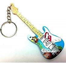 Portachiavi in Legno Forma Chitarra - Green Day - Billie Joe Armstrong