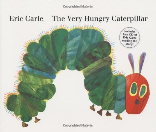 The Very Hungry Caterpillar: board book & CD by Eric Carle (2007-04-19)