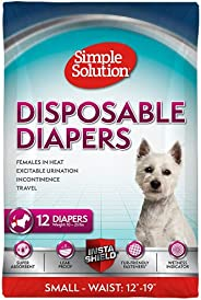 Simple Solution Disposable Dog Diapers Nappies Medium-Smart