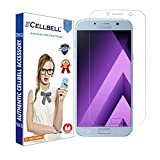 CELLBELL® Samsung Galaxy A7(2017)(Front) Scratch Guard With FREE Installation Kit