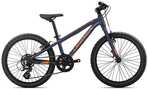 ORBEA MX 20 Dirt Kinderrad MTB, 7-Gang 20'', Farbe:Blau-Orange
