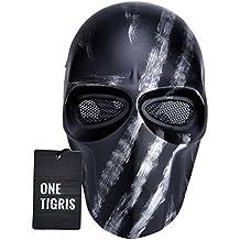 OneTigris Máscara de protección integral para CS Airsoft BB, diseño con estrella, para hombre 2