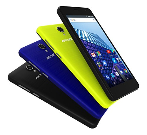 Archos Access 50 Color 3G 12,7 cm (5') 1 GB 8 GB Doppia SIM Assorted colours, Nero 2000 mAh