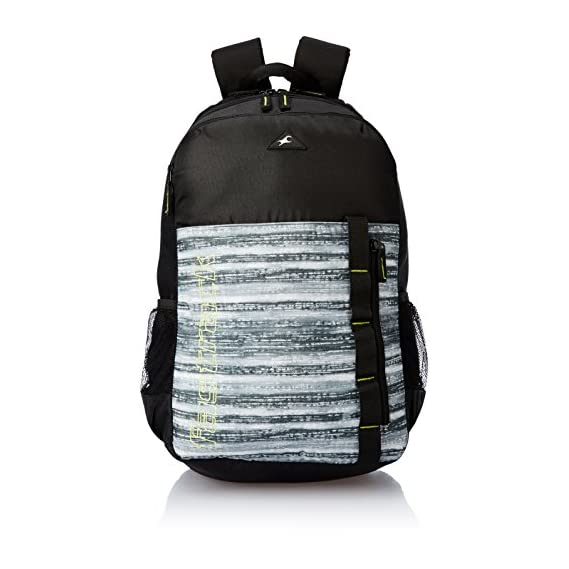 Fastrack 30.73 Ltrs Black Casual Backpack (A0649NBK01)