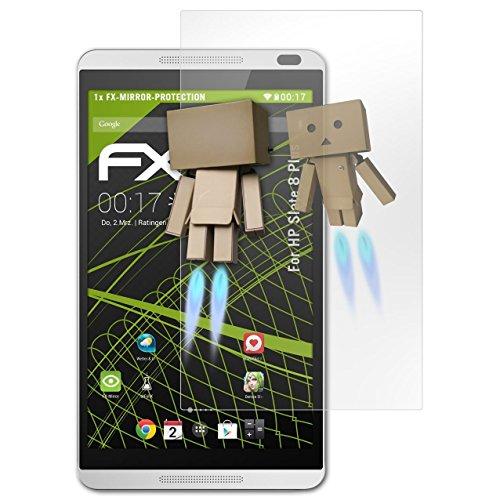 atFolix Displayfolie für HP Slate 8 Plus Spiegelfolie, Spiegeleffekt FX Schutzfolie (Hp Slate Plus Screen Protector)