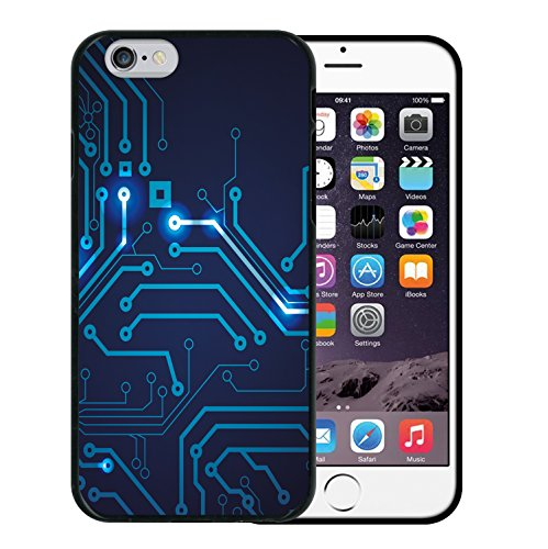 iPhone 6 6S Hülle, WoowCase Handyhülle Silikon für [ iPhone 6 6S ] Bunte Mandala Handytasche Handy Cover Case Schutzhülle Flexible TPU - Transparent Housse Gel iPhone 6 6S Schwarze D0042