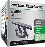 RAMEDER Komplettsatz, Anhängerkupplung abnehmbar + 13pol Elektrik für AUDI A6 (138456-09154-1)