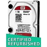 WD Digital - Disco duro para dispositivos NAS de sobremesa de 1 TB (Intellipower, SATA a 6 Gb/s, 64 MB de caché, 3,5in) rojo (Reacondicionado)