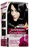 Garnier Color Intense Dauerhafte Creme-Coloration 1,0 Schwarz, 2er Pack