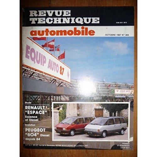 RTA0484 - REVUE TECHNIQUE AUTOMOBILE RENAULT ESPACE Essence et Diesel