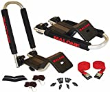 Malone Downloader Folding J-Style Universal Car Rack Kayak Carrier with Bow and Stern Lines by Malone