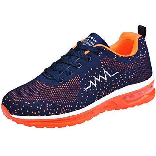 Epig gesponnene Schuhe für Paar-Luftkissen-Sportschuhe Arbeiten Breathable Ineinander greifen-Turnschuhe um