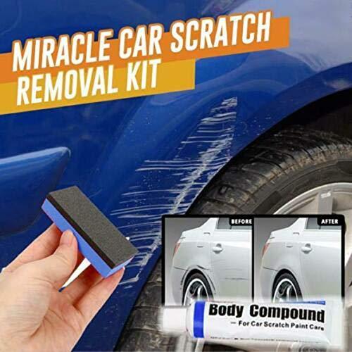 MiaZhou Car Scratch Removal Kit Compound Paste Cream Automobiles Repair Paint Care Polishing Kit Car Care