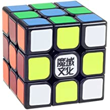 amour-story Moyu Aolong Magic Speed Cube profesional clásico Puzzle Twist Toy Negro Borde Course Record del mundo