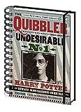 Harry Potter - El Quisquilloso, Indeseable No 1, Daniel Radcliffe Bloc De Notas Libreta De Espiral (21 x 15cm)